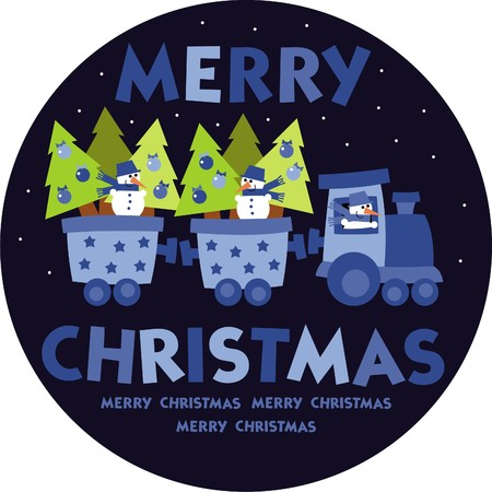 merry christmas Stock Vector - 8199215