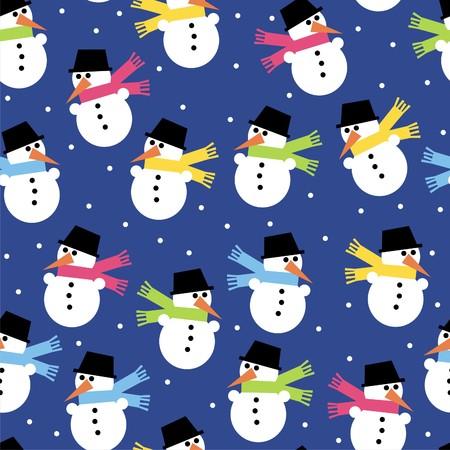 snowman Stock Vector - 8199216