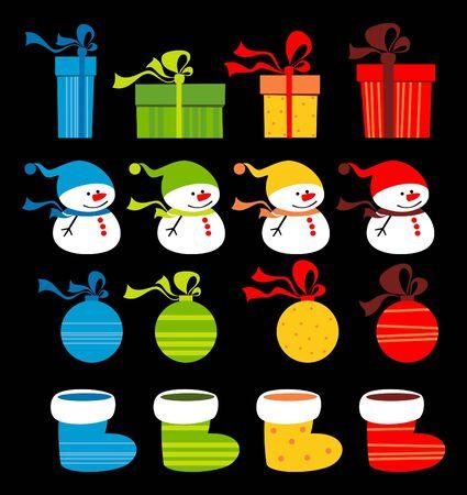 Christmas obiektów clipart