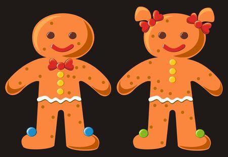gingerbread Stock Vector - 8426004