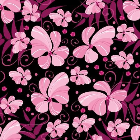 tło kwiatu Ilustracja