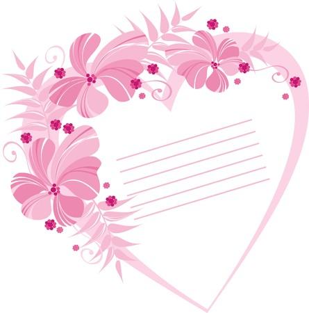Karta z serca