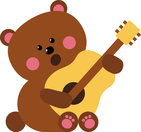 muse: bear Illustration
