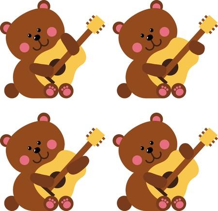 Bears Stock Vector - 8494173
