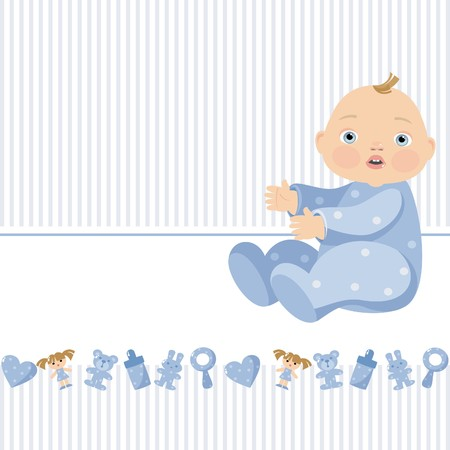 tot: boy toy Illustration