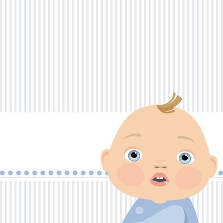 little boy Stock Vector - 8495873