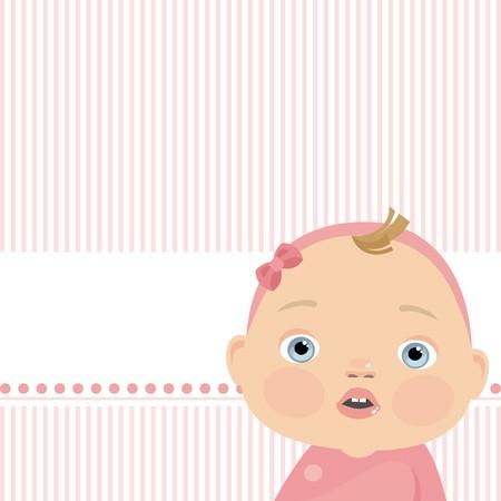 small child Stock Vector - 8495874