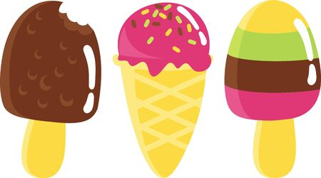 eating ice cream: ice cream