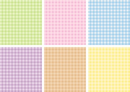 gingham: background Illustration