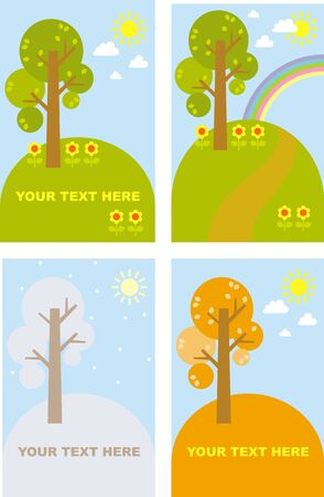 landscape Stock Vector - 8798508