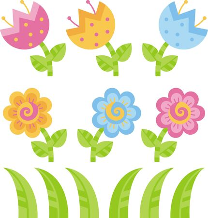 Flowers Stock Vector - 8976573