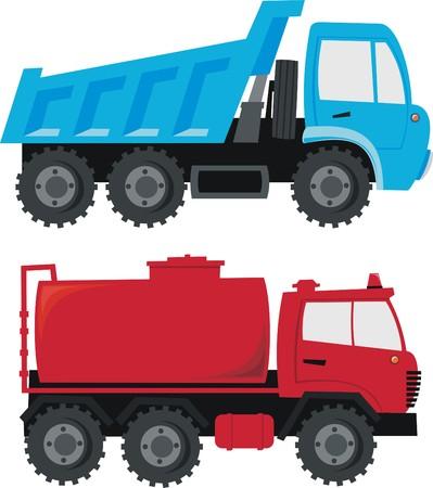 dumper: Trucks Illustration