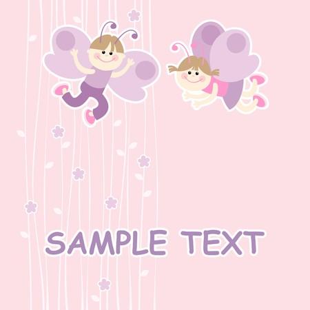 Butterflies Stock Vector - 9096190