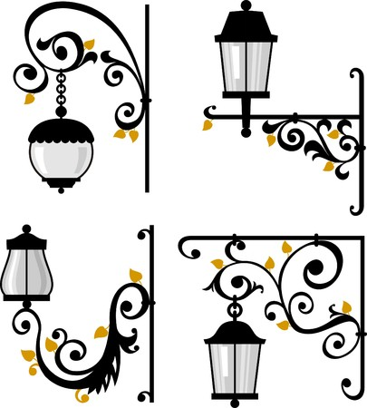 Lanterns Stock Vector - 9096160