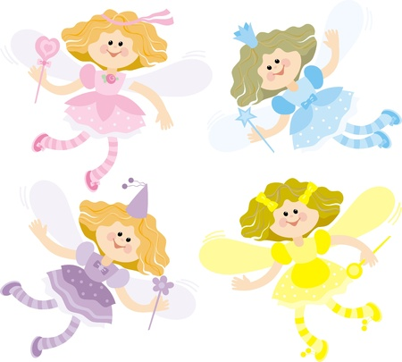 little fairy Stock Vector - 9402128