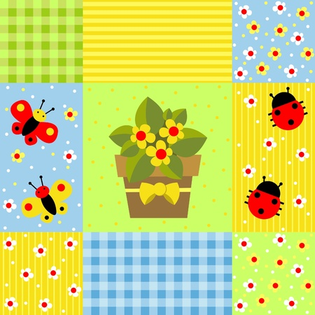 set of backgrounds for scrapbook