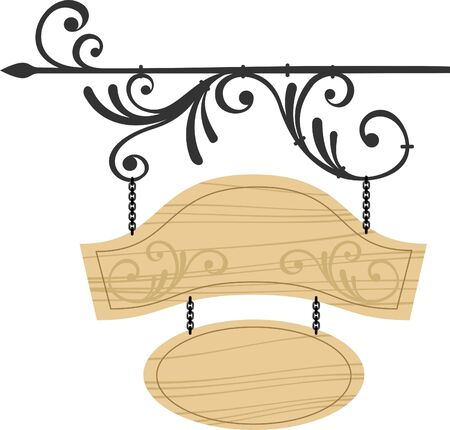 signboard Stock Vector - 9579246