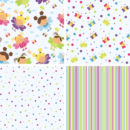 backgrounds for scrapbook Illustration