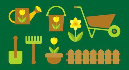 gardening Stock Vector - 9923895