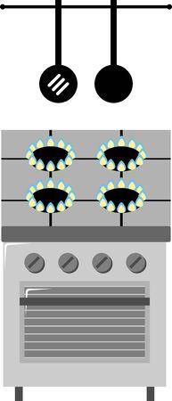 stove: gas-stove