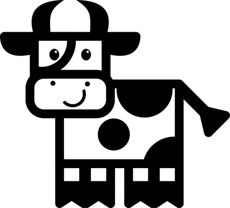 cow Stock Vector - 10712041