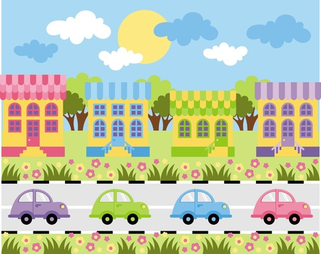 city street Stock Vector - 10850276