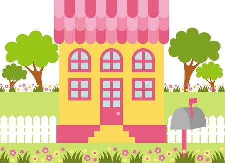puppenhaus: Haus Illustration