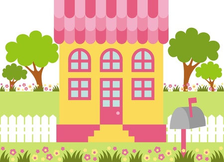house Stock Vector - 10884486
