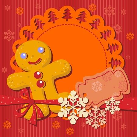 lebkuchen: Weihnachtspl�tzchen Rezept f�r Party-Einladung