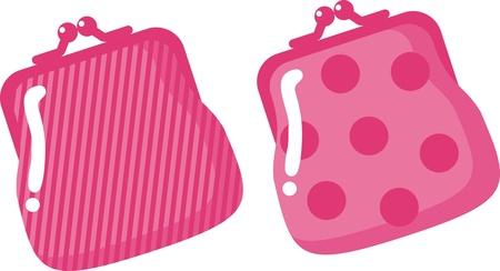 purse: wallet - a symbol of money, wealth, prosperity