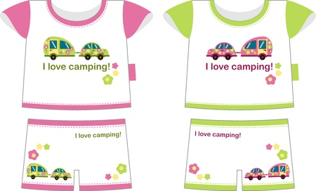 t shirt blouse: Two children