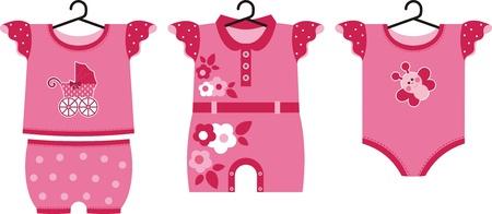 Autre ensemble de vêtements d'été pour le petit bébé nouveau-né
