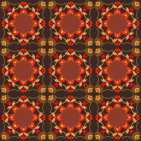 rugs: oriental floral ornamental carpet design