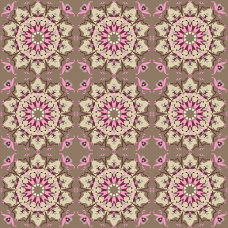 oriental floral ornamental carpet design