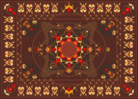 oriental rug: oriental carpet design