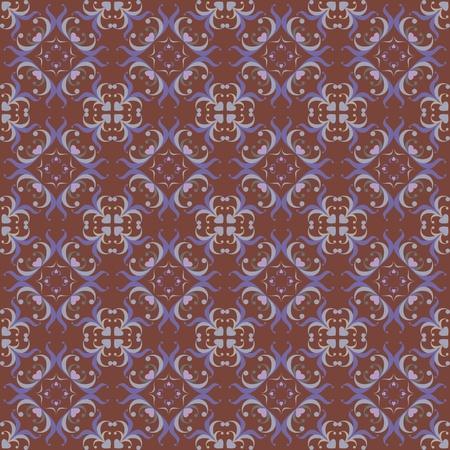 rugs: oriental floral ornamental carpet design, vector illustration Illustration