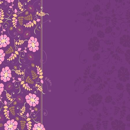 background for the design of flowers,  illustration Vector