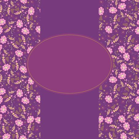 background for the design of flowers Vector