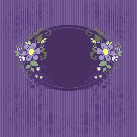 backgrounds with flowers for the design, vector illustration Vector