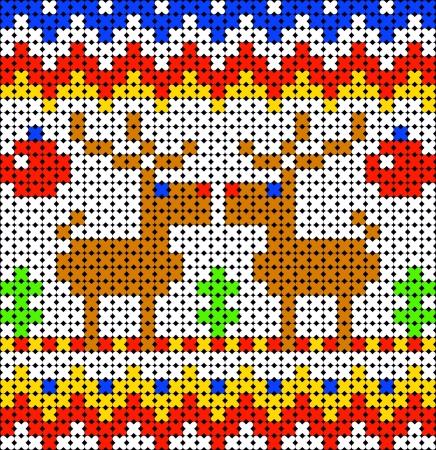 scandinavian seamless pattern Stock Vector - 17192606