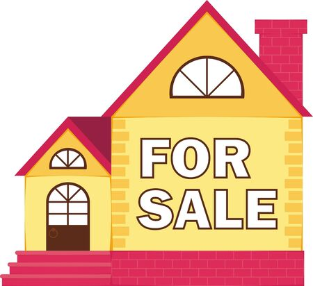 Picture of a small house for a family Stock Vector - 17441613