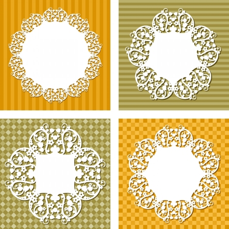 backgrounds with napkins Stock Vector - 18955825