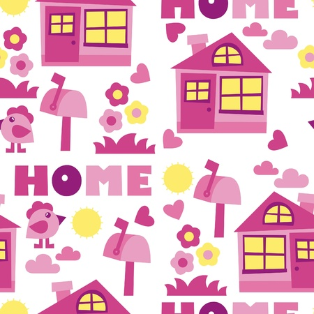 home background – vector illustration Vector