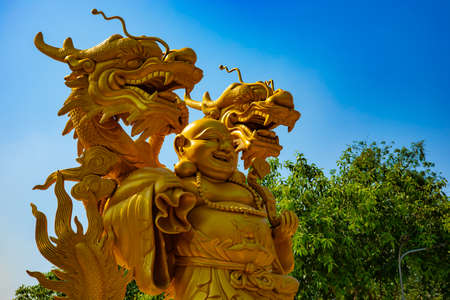 A Guardian statue at Suoi Tien park in Ho Chi Minh Vietnam