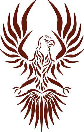 Abstract vector eagle Фото со стока