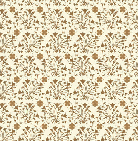 Floral pattern, vector illustration Stock Illustration - 882244