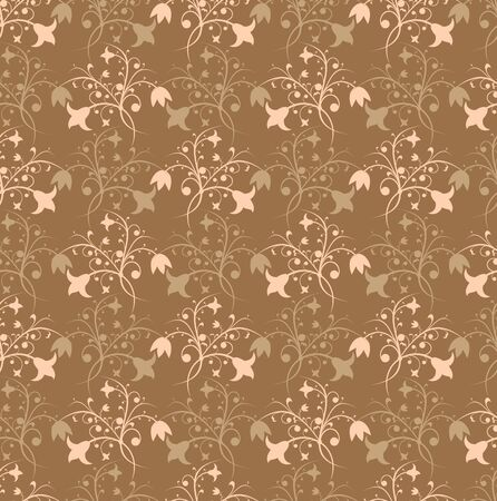 Floral pattern, vector illustration Stock Illustration - 882259