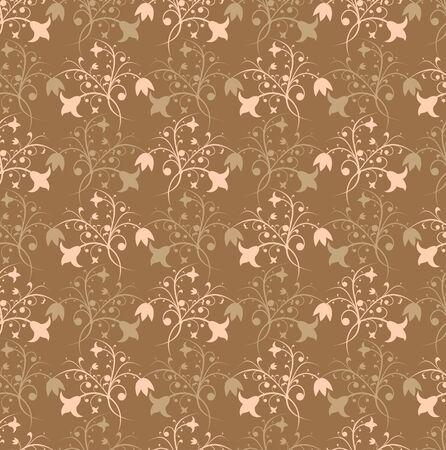 Floral pattern, vector illustration Stock Illustration - 882259