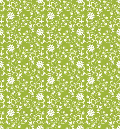Floral pattern, vector illustration Stock Illustration - 884175