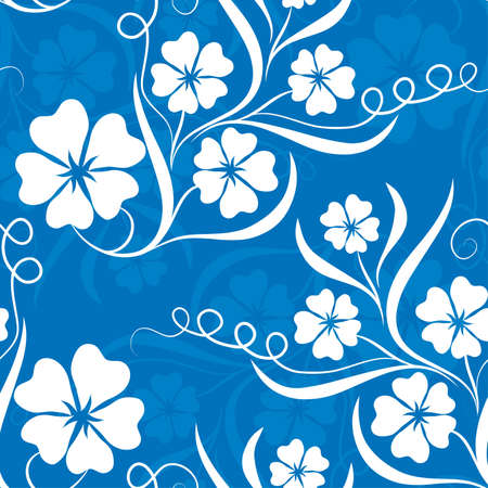 Seamless floral pattern Stock Photo - 895234